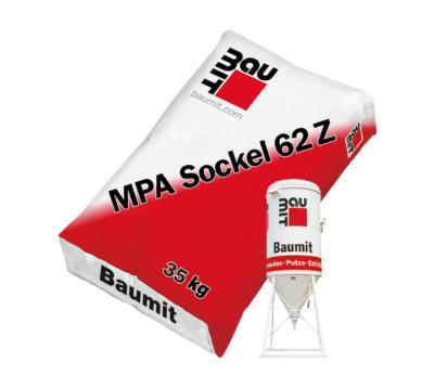 ZementSockelputz MPA Sockel 62 Z